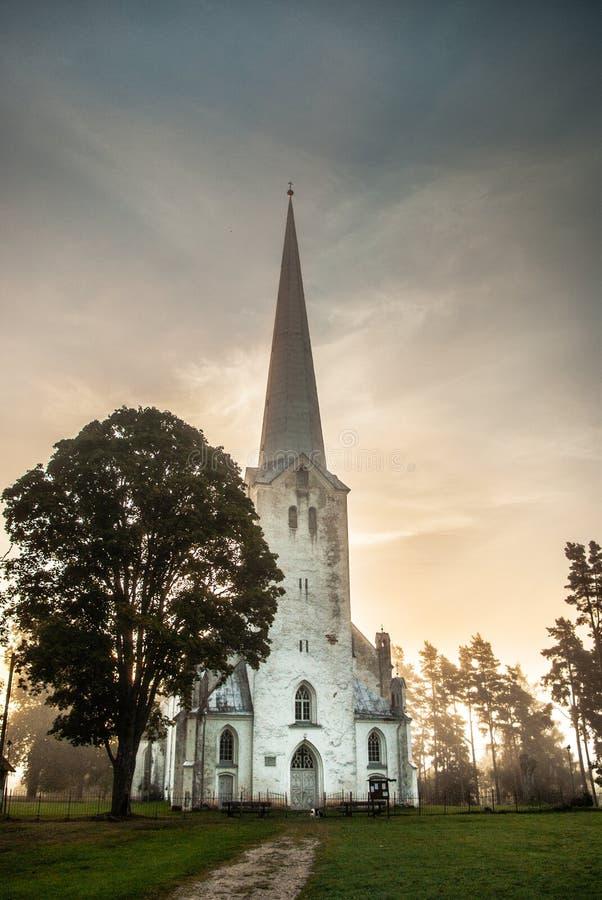Een kerk stock foto