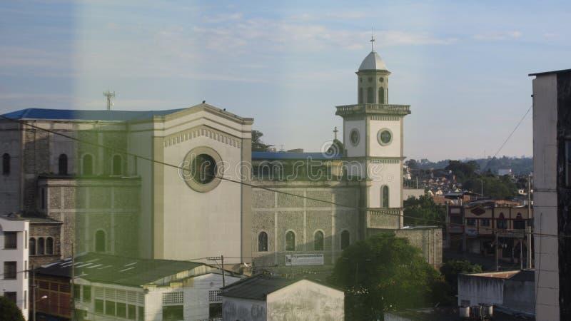 Een kerk in Colombia royalty-vrije stock fotografie