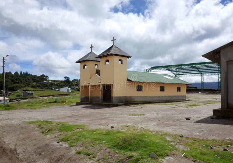 Een kerk in de stad van Chilano-Alt royalty-vrije stock foto's