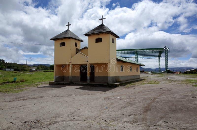 Een kerk in de stad van Chilano-Alt royalty-vrije stock afbeeldingen