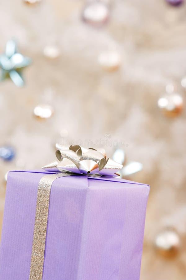 Een Kerstmisgift royalty-vrije stock fotografie