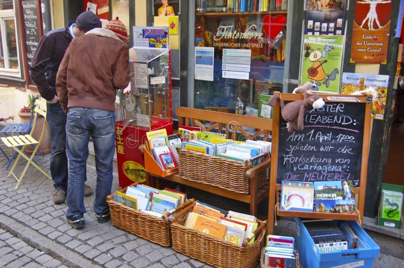 Een Kinderen` s Boekhandel op de Kraemer-Brug het Lopen Straat royalty-vrije stock afbeelding