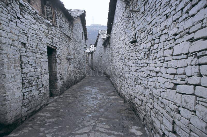 De wereld van de steen in West-China royalty-vrije stock fotografie