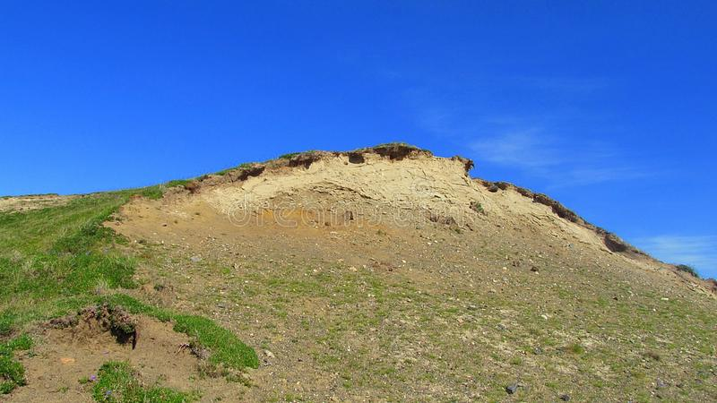 Een kleine berg stock fotografie