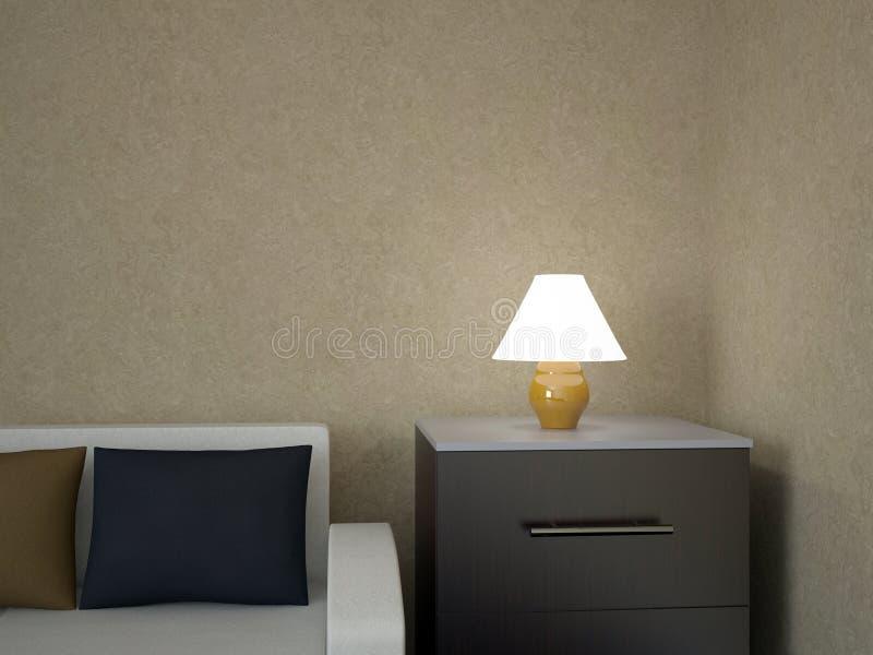 Een kleine lamp vector illustratie