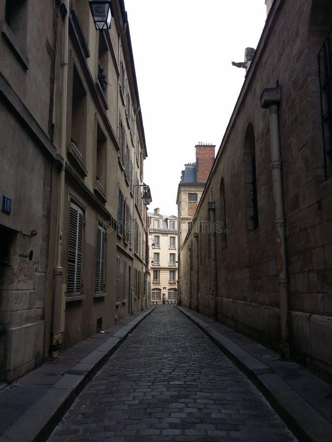 Een kleine weg, straat, weg, weg royalty-vrije stock foto