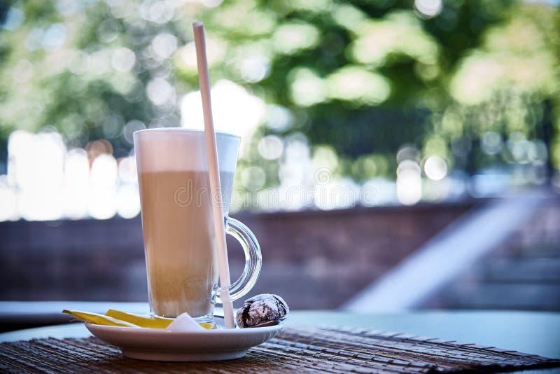 Een Koffiedrank royalty-vrije stock foto's