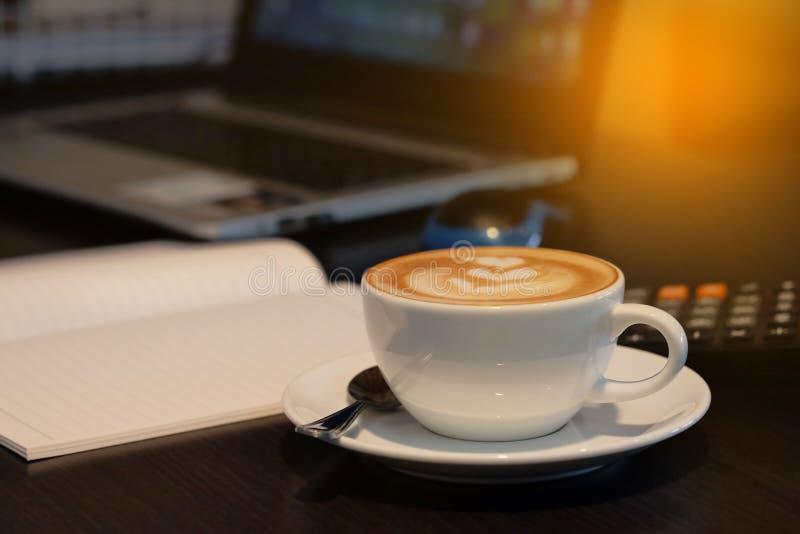 Een koffiekop stock foto's