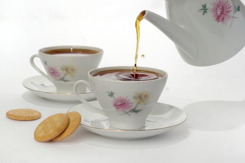 Een kop met thee royalty-vrije stock fotografie