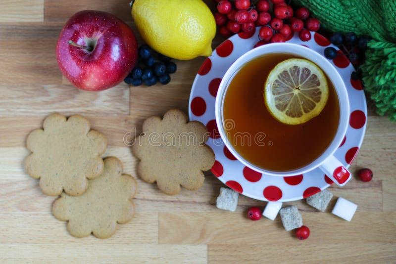 Een kop thee royalty-vrije stock fotografie