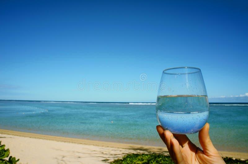 Een kop van water royalty-vrije stock afbeeldingen