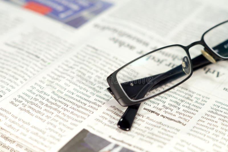 Een krant stock fotografie