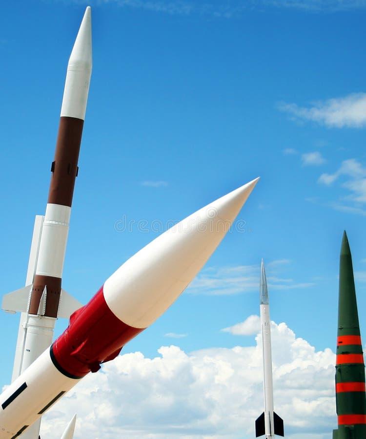 Een kwartet van de Raket royalty-vrije stock fotografie