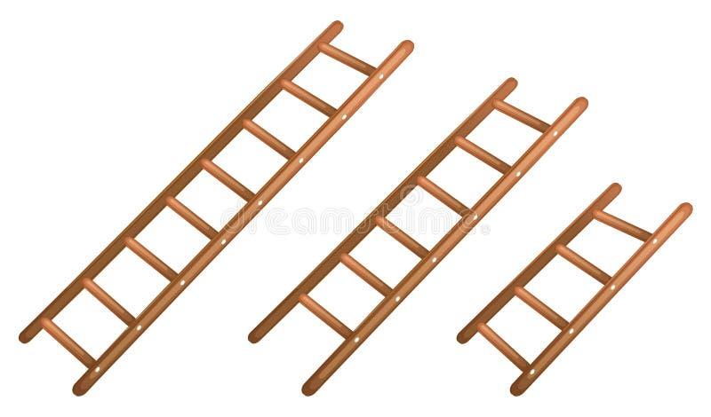 Een ladder royalty-vrije illustratie