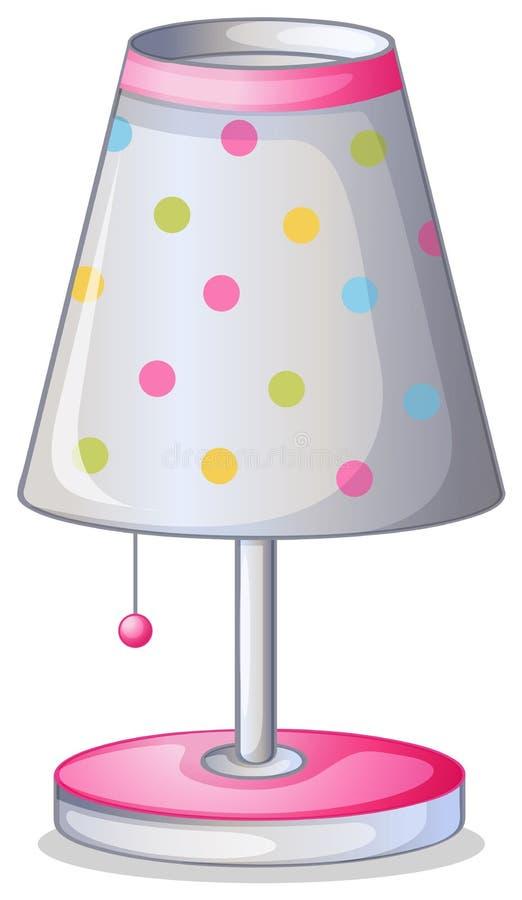 Een lampekap vector illustratie