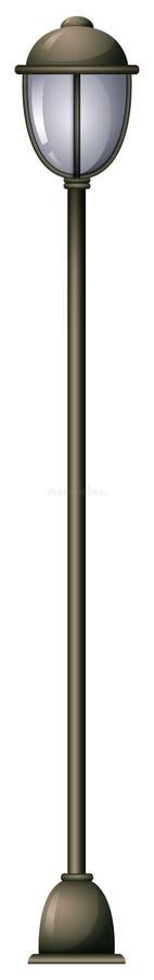 Een lamppost stock illustratie