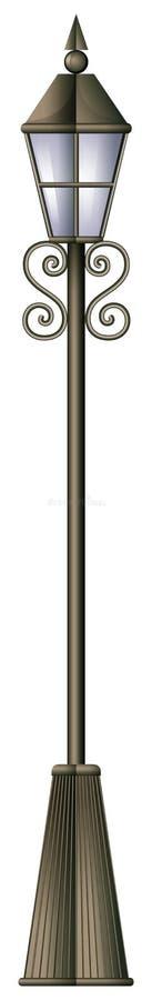 Een lamppost vector illustratie