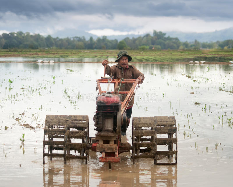 Een landbouwer