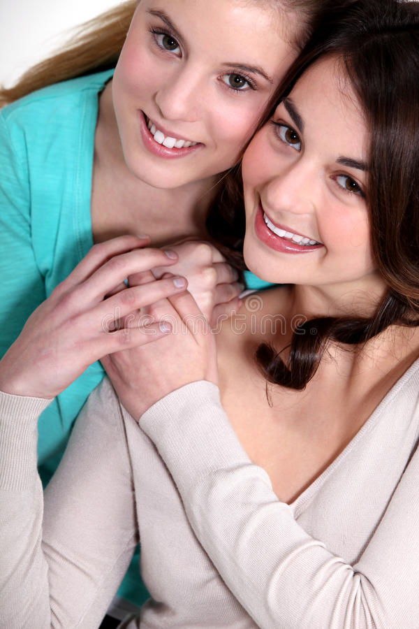 Een langdurige vriendschap royalty-vrije stock afbeeldingen