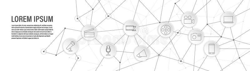 een laptop pictogram Van Webreeks stock illustratie
