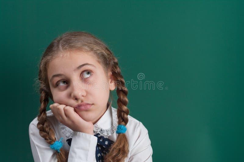 Een leerling stock afbeelding