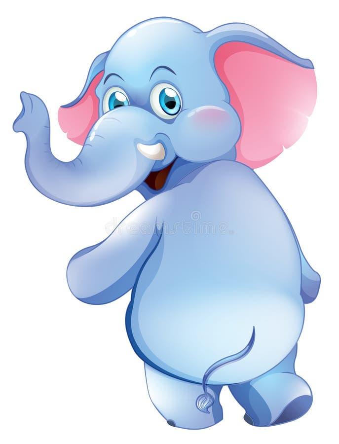 Een leuke jonge olifant royalty-vrije illustratie