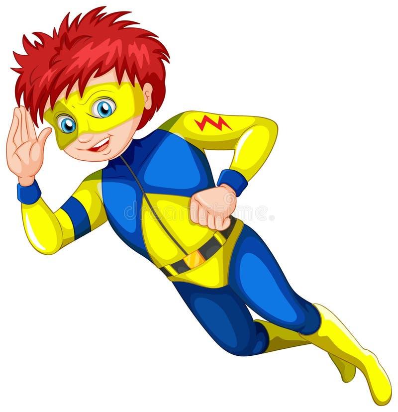 Een mannelijke superhero vector illustratie