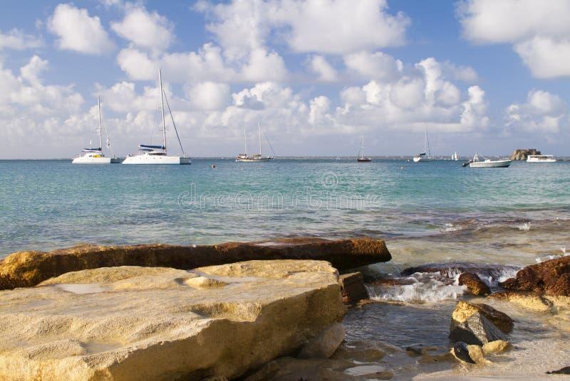 St Maarten stock afbeelding