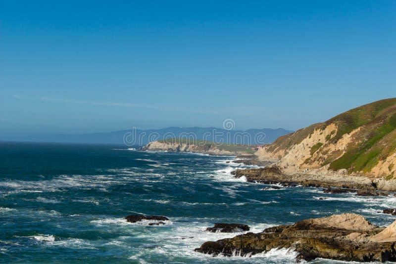 Een mening van de Vreedzame Oceaan van Bodega-Hoofd royalty-vrije stock fotografie