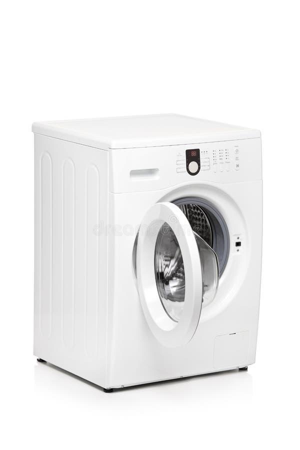 Een mening van een wasmachine stock foto