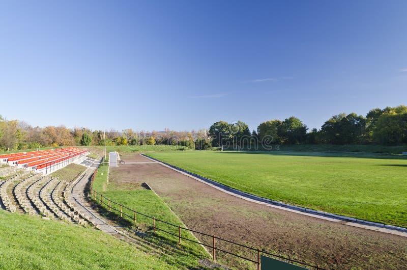 Een mening van het Stadion royalty-vrije stock fotografie