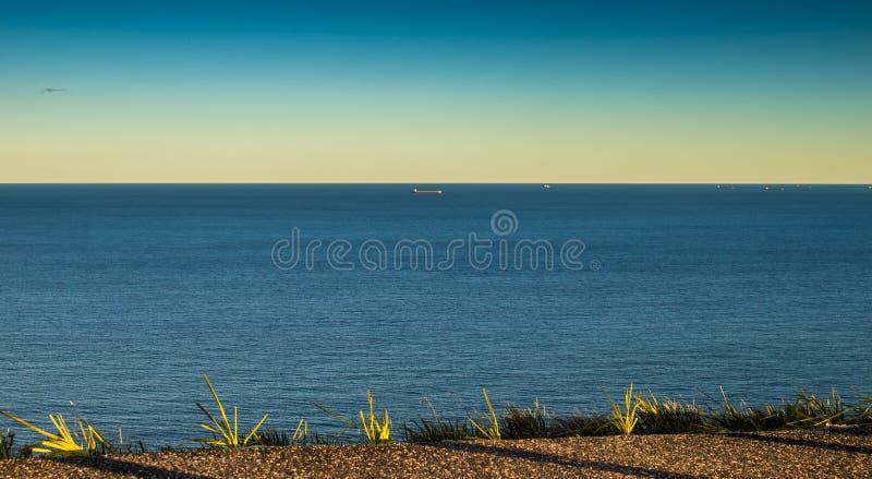 Een mening van Oceaan in Sydney stock foto's