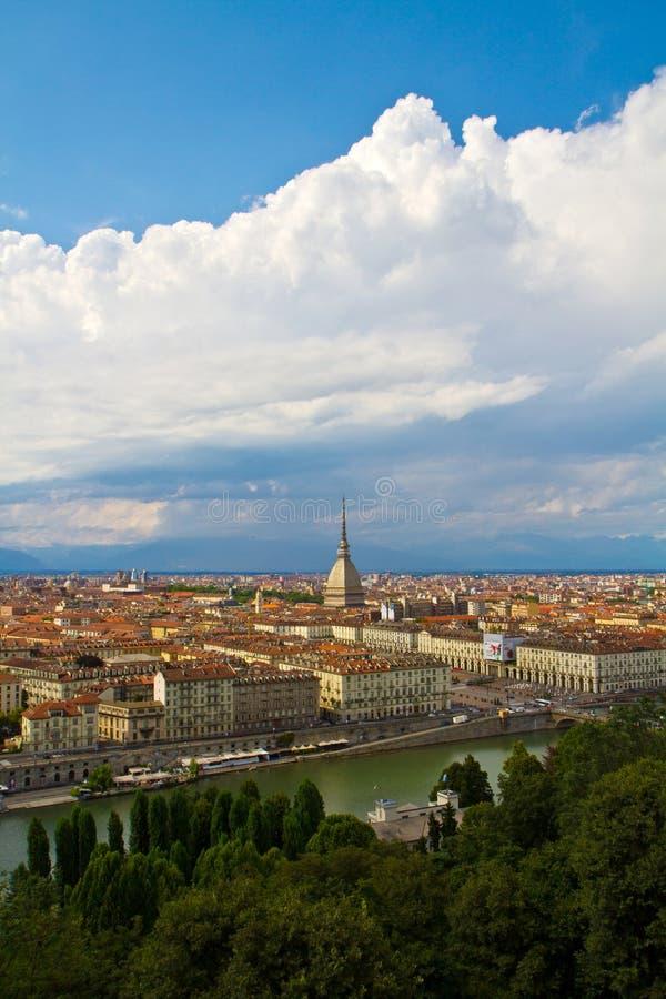 Een mening van Turijn royalty-vrije stock fotografie
