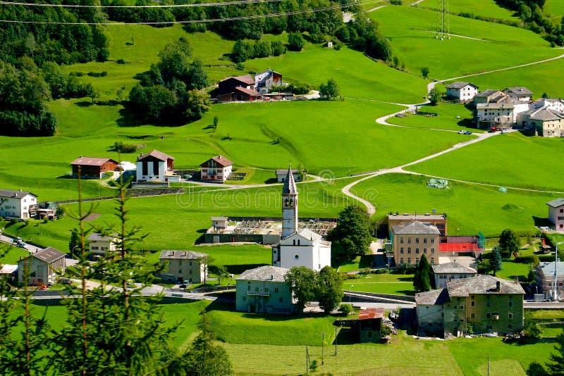 Een Mening van Uitdrukkelijke Bernina royalty-vrije stock afbeelding