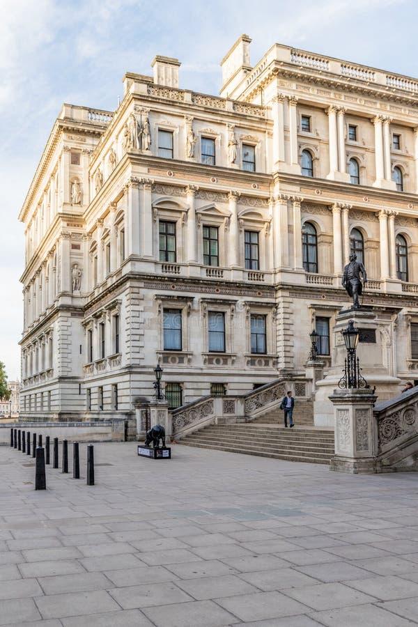 Een mening in Westminster in Londen royalty-vrije stock fotografie