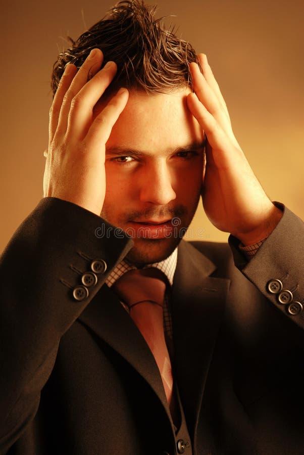 Een mens stock foto