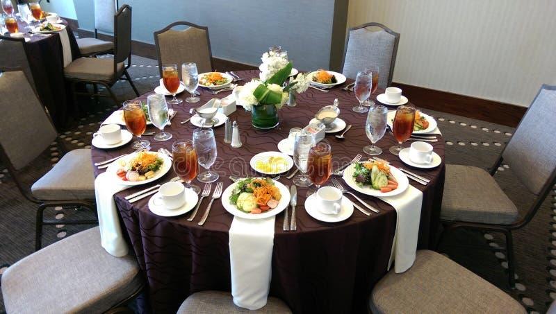 Een middagmaal nummer 2 royalty-vrije stock fotografie