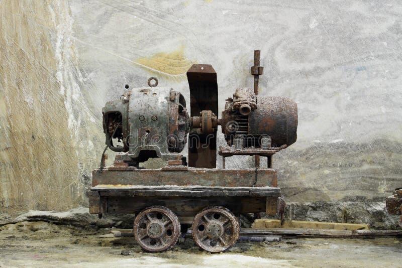 Een mijnbouwkar royalty-vrije stock foto's