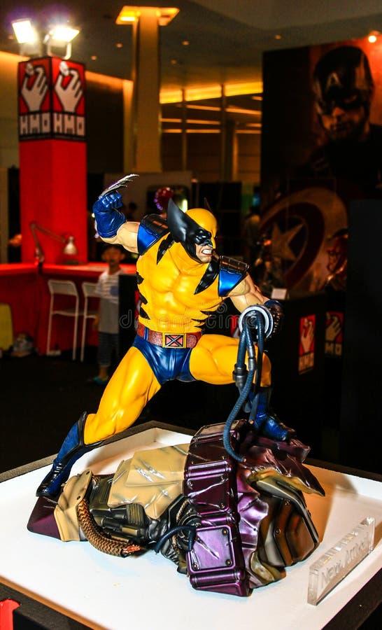Download Een Model Van Karakterwolverine Van De Films En De Strippagina Redactionele Stock Afbeelding - Afbeelding bestaande uit helden, superhero: 54075024