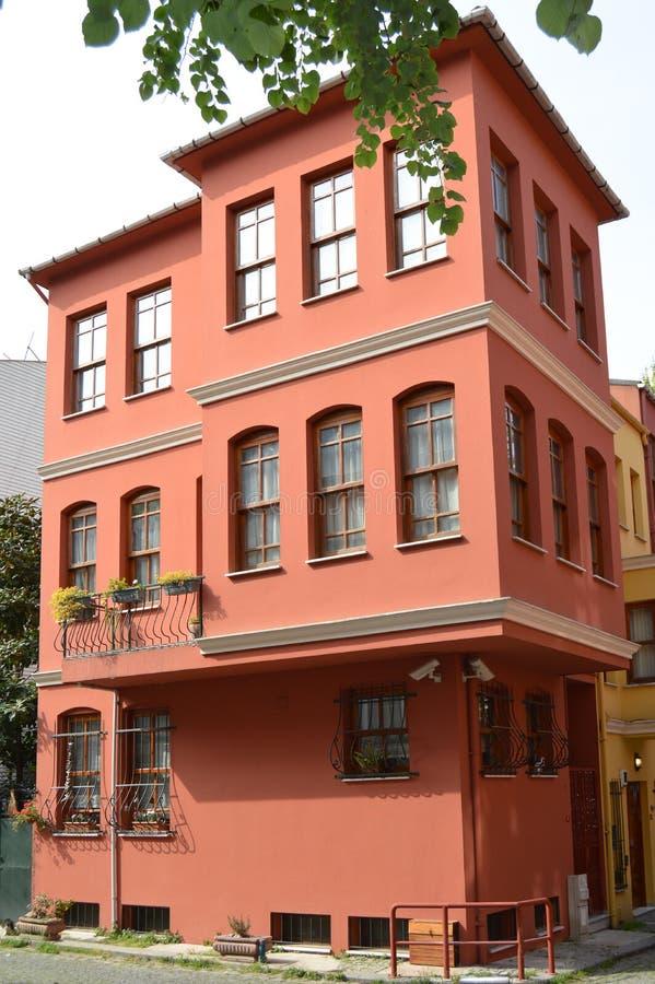 Een moderne huisvesting stock foto