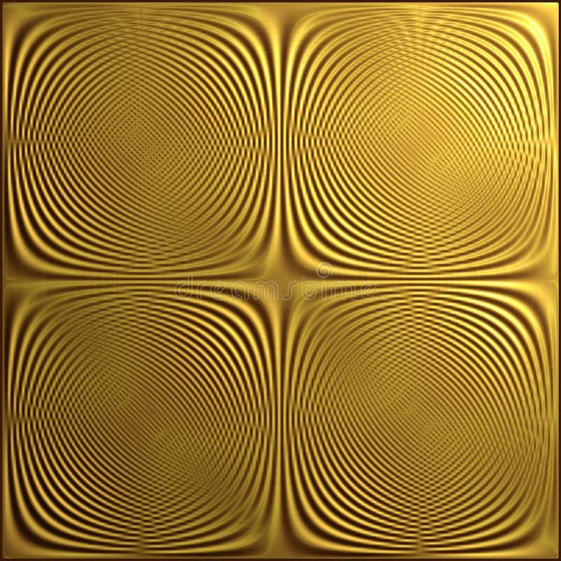 Een Moirépatroon door Twee Reeksen Lijnen wordt gevormd die stock foto