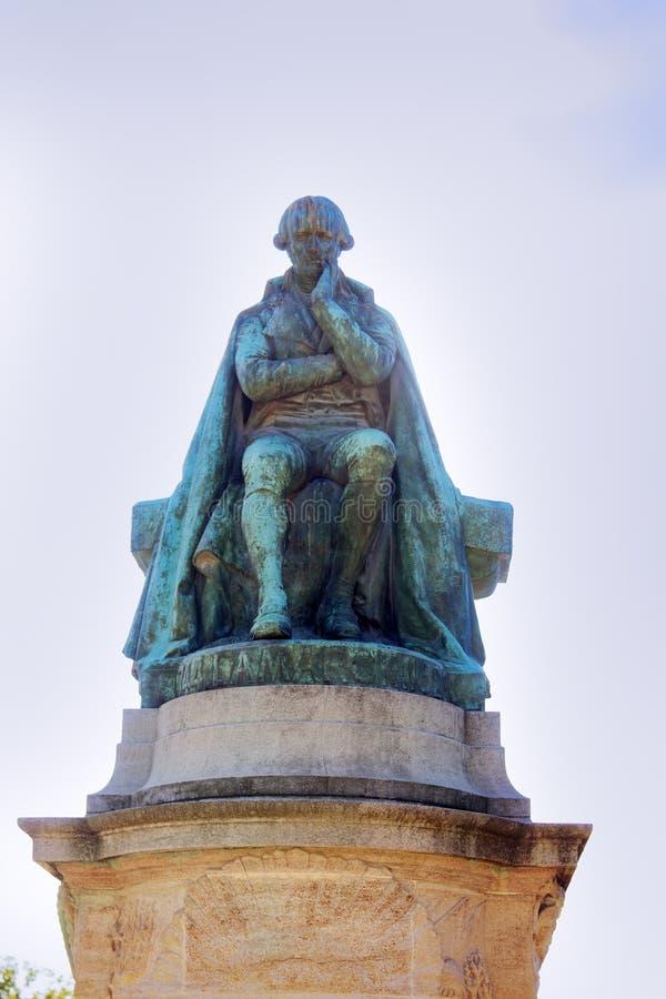 Een Monument aan Lamarck royalty-vrije stock afbeeldingen