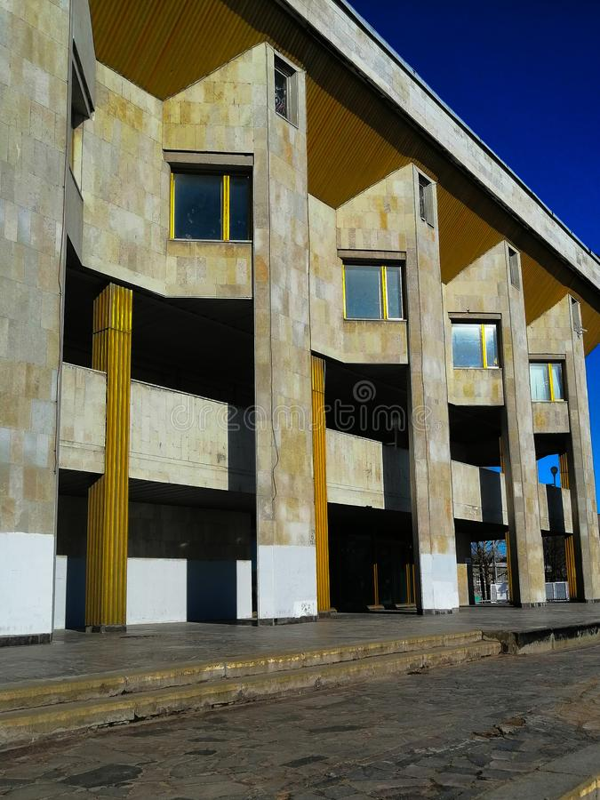 een mooi gebouw stock fotografie