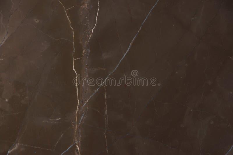 Een mooie achtergrond van natuurlijke marmeren steen bruin met lichte strepen, riep Grafiet Bruin stock foto