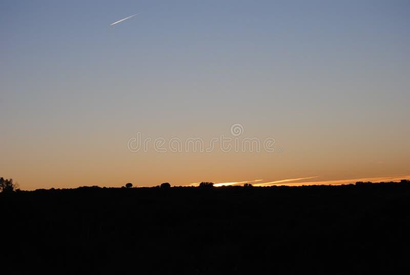 Een mooie zonsopgang stock fotografie