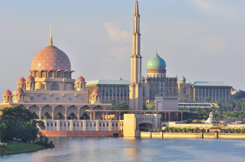 Een moskee in Maleisië royalty-vrije stock fotografie