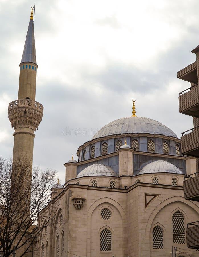 Een moskee in Tokyo Japan royalty-vrije stock afbeeldingen
