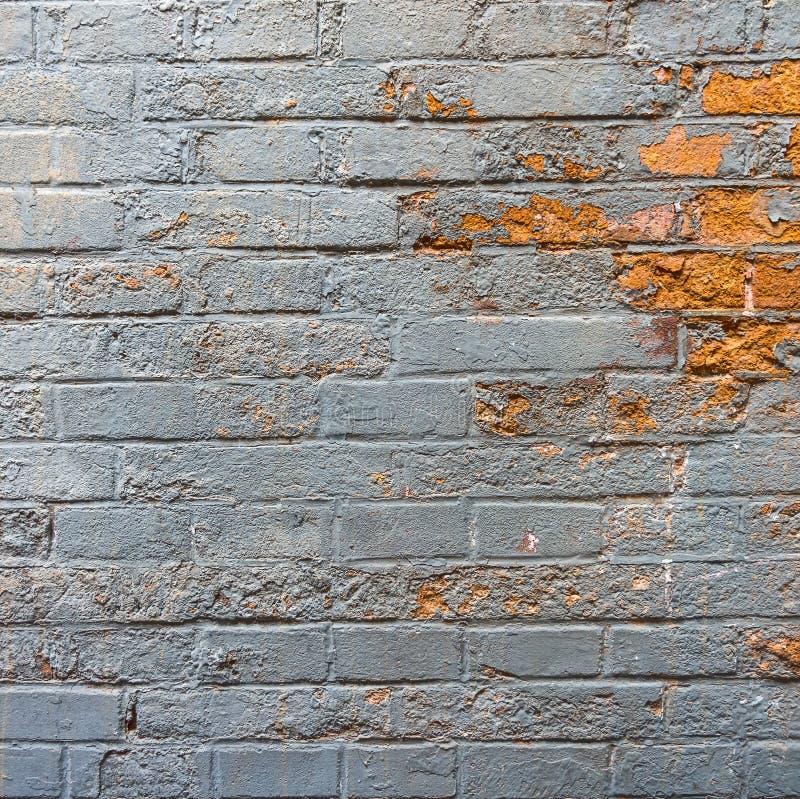 Een muur met schilverf kan onooglijk zijn knoeit in een huis royalty-vrije stock fotografie