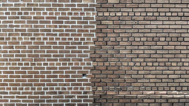 Een muur in toon twee royalty-vrije illustratie