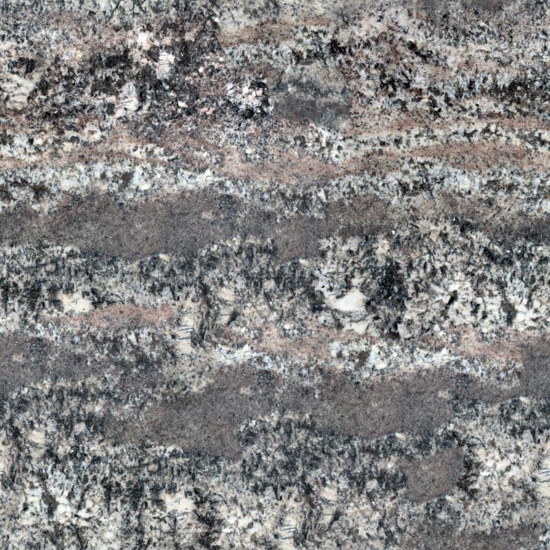 Een natuurlijk patroon van een oppervlakte van de granietsteen De naadloze vierkante achtergrond, betegelt klaar stock foto